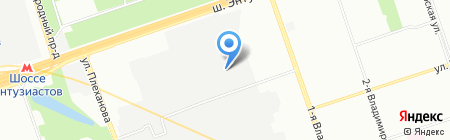 ВодаТрейд на карте Москвы
