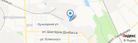 Первая Кузня на карте Донецка