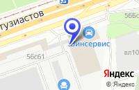 Схема проезда до компании БРАЙТОС в Москве
