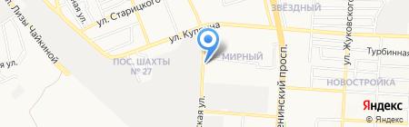 Салют Донецк на карте Донецка