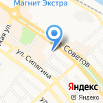 Ригла на карте Новороссийска