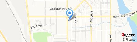 Sprut на карте Донецка