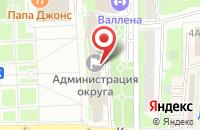 Схема проезда до компании Евразия-Трансстрой в Шубино