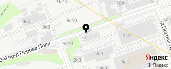 Форвард Авто на карте Москвы
