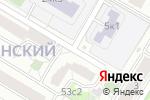 Схема проезда до компании ЮК Эксперт в Москве