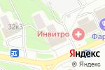 Схема проезда до компании Новая заря в Москве