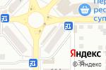 Схема проезда до компании Бюджет в Донецке