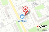 Схема проезда до компании Стратус в Москве