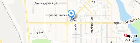 Одежда из Европы секонд-хенд на карте Донецка