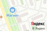 Схема проезда до компании Метизы от А до... в Москве