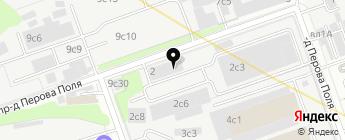Форвард Партс на карте Москвы