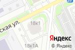 Схема проезда до компании Братеевская 18-1 в Москве