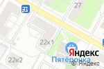 Схема проезда до компании Кедр и Ко в Москве