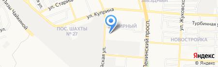 АМК на карте Донецка