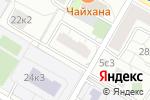 Схема проезда до компании Плющево в Москве