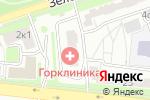 Схема проезда до компании Домофон Восток в Москве