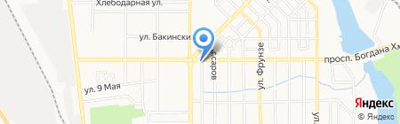 Мед-Сервис на карте Донецка