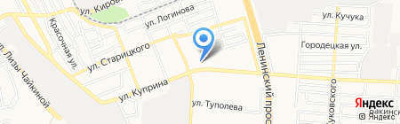 Самур на карте Донецка