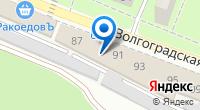 Компания Вираж на карте