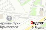 Схема проезда до компании Иглач плюс в Москве