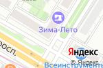 Схема проезда до компании Кинки студия в Москве