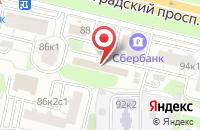 Схема проезда до компании Высший Аттестационно-Квалификационный Комитет в Москве