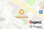 Схема проезда до компании ПрофЭкоДез в Москве