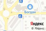 Схема проезда до компании Джем в Донецке