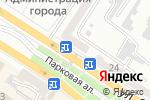 Схема проезда до компании Gym bar в Новороссийске