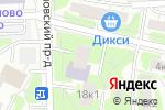 Схема проезда до компании Библиотека №180 в Москве