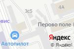 Схема проезда до компании ВсеСтулья.Ру в Москве