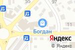 Схема проезда до компании Family Room в Донецке