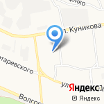 Гимназия №1 на карте Новороссийска