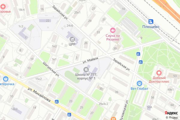 Ремонт телевизоров Улица Маевок на яндекс карте