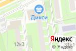 Схема проезда до компании Аура. Ф в Москве
