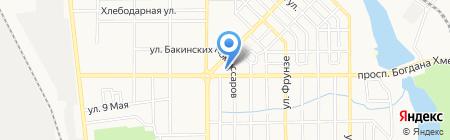 Донтехэнергосистемс на карте Донецка