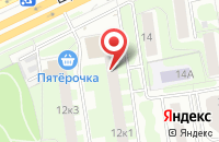 Схема проезда до компании МариСаш в Москве