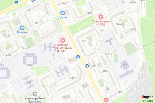 Ремонт телевизоров Улица Алма Атинская на яндекс карте