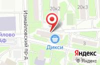 Схема проезда до компании Дегон-Трейд в Москве