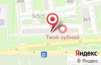Схема проезда до компании Карусель Про в Москве
