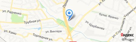 Банкомат Первый Украинский Международный Банк на карте Донецка