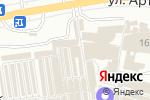 Схема проезда до компании Icon Group в Донецке
