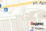 Схема проезда до компании Мегасеть в Донецке