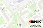 Схема проезда до компании Мелинда в Москве