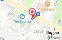 Схема проезда до компании Ремстройфэнтэзи в Москве
