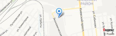 Оргкровля-Юг на карте Донецка
