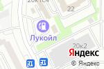 Схема проезда до компании Мегаполис М в Москве