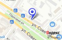 Схема проезда до компании КОМПЬЮТЕРНЫЕ СЕТИ SEATELECOM в Новороссийске