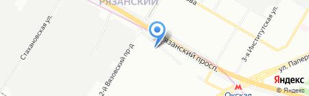 Виркэн-Рус на карте Москвы
