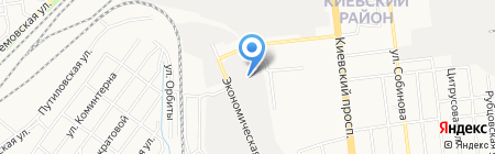 БАС 888 на карте Донецка